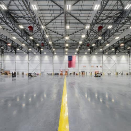 spirit airlines maintenance hangar